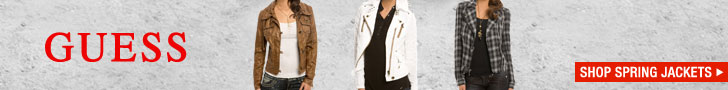 Guess Clothing - Jackets 728X90