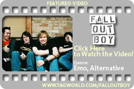 Tagworld - Featured Video - Fallout Boy