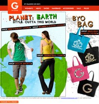 Email Promotion - G by Guess Earthday